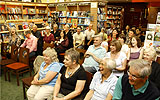Part of the audience at Waterstones