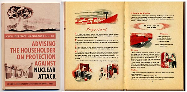 The Protect And Survive booklet - 1963